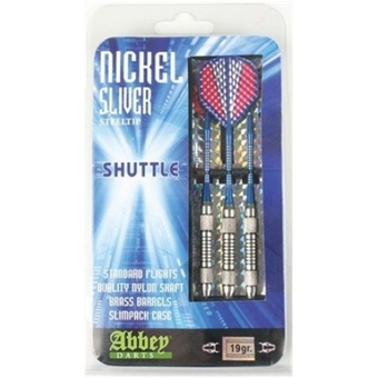 Abbey Darts Nickel/Silver 19 gram