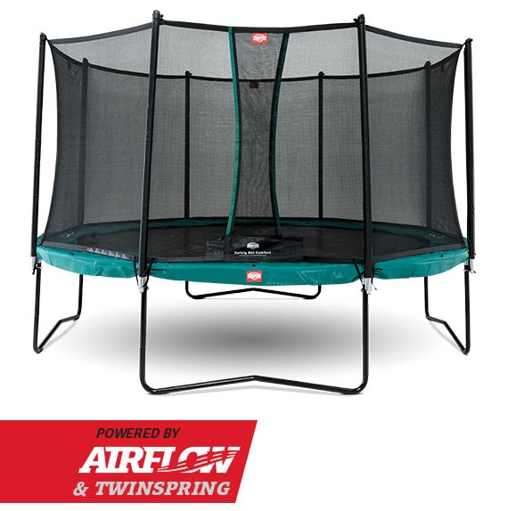 Berg Champion 330 Groen + Safety Net Comfort