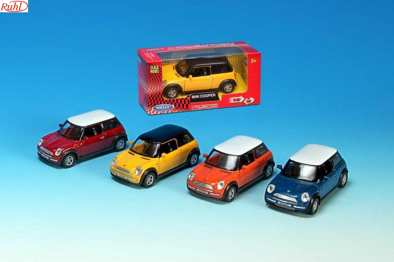 Welly Mini Cooper, Rood