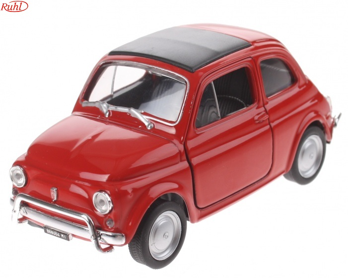 WELLY FIAT 500, keur Rood