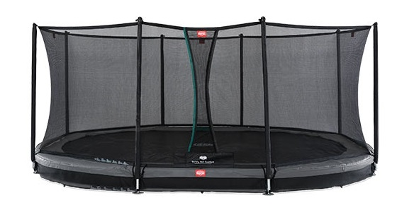 Berg Inground Grand Favorit 520 Grijs + Safety Net Comfort