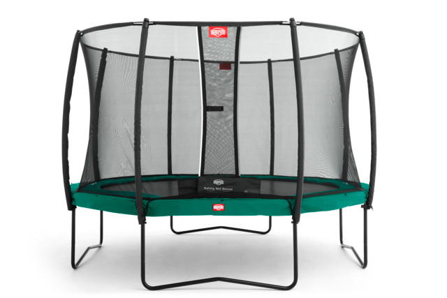 Berg Champion 430 Groen + Safety Net Deluxe