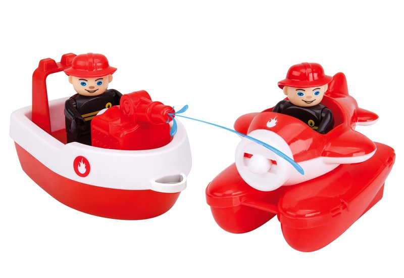 BIG Waterplay Fireboat-set