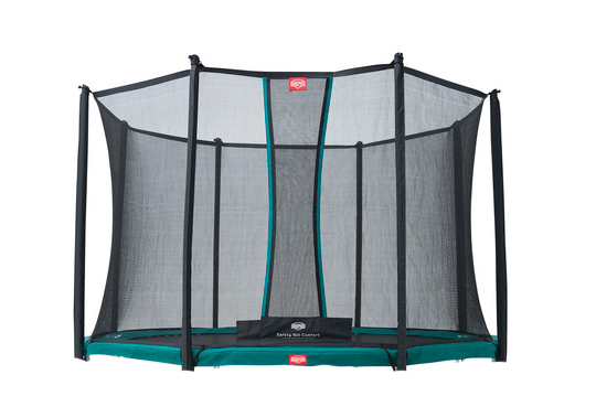 Berg InGround Favorit 270 Groen + Safety Net Comfort