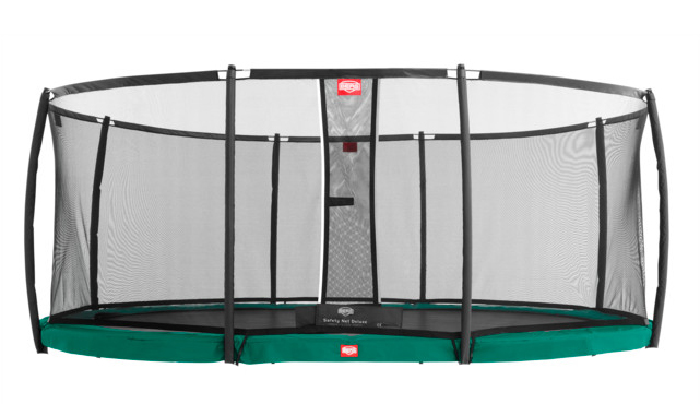 Berg Inground Grand Champion 520 Groen + Safety Net Deluxe