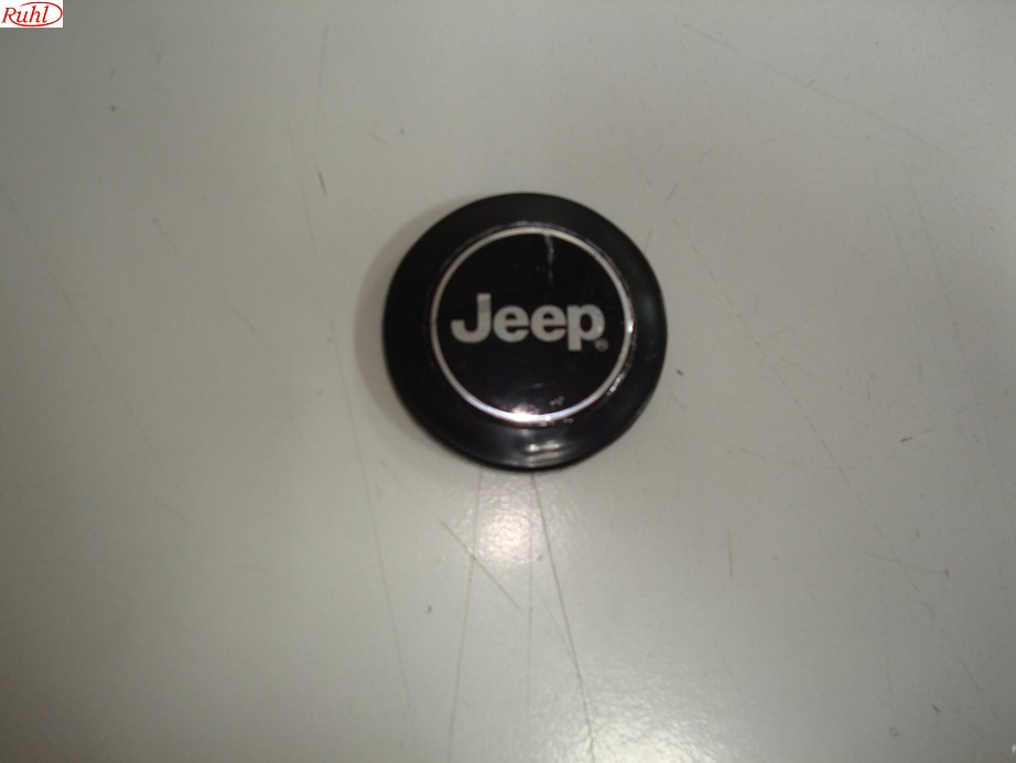 Logo plaat rond Berg stuur, rally JEEP Adventure