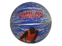 Blauwe Basketbal